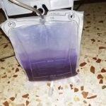 Orina de color morado - sindrome de orina púrpura