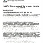 resena-enfermeria-cultural-antropologia-cuidado