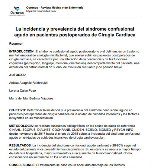 incidencia-prevalencia-sindrome-confusional-agudo-postoperados-cirugia-cardiaca