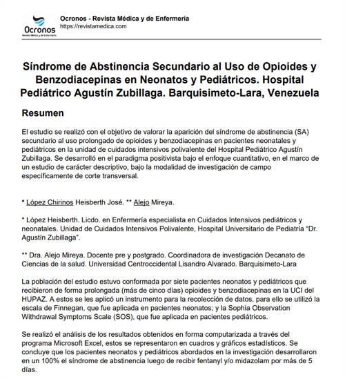 sindrome-de-abstinencia-opioides-benzodiacepinas-neonatos