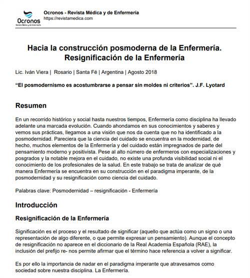 construccion-posmoderna-resignificacion-enfermeria