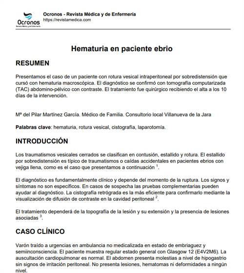 hematuria-en-paciente-ebrio-caso-clinico
