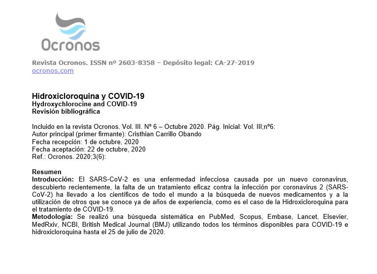 hidroxicloroquina-covid